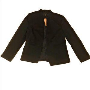 J Crew 365 Black Career Blazer Jacket Size 10